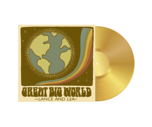 Great Big World Vinyl Transparent Centered